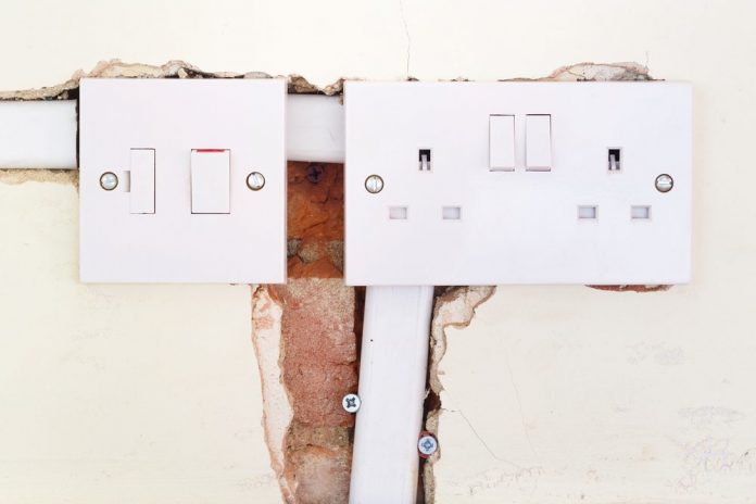 electrical wiring plan in a house
