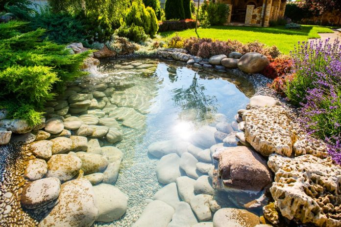 Use Landscaping Rocks For Your Garden, Rocks In A Garden